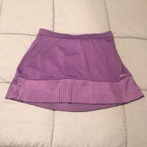 Reebok purple athletic skort size medium like new